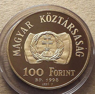 Hungary 1998 100 Forint 150th Anniv of the Revolution and War 1848 Proof |C2935