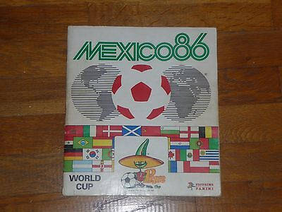 ALBUM PANINI FOOTBALL MEXICO 86 INCOMPLET (environ 350 images)