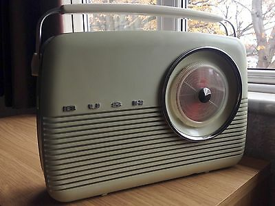 Bush Tr82c Original Transistor Radio Working 60s Vintage Retro