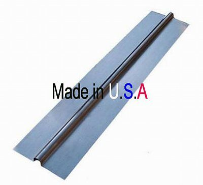 """100 - 2' Aluminum Radiant Heat Transfer Plates for 1/2"""" PEX tubing, Made in USA"""
