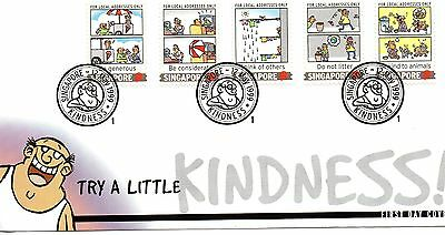 Kindness Singapore First Day Cover 1999