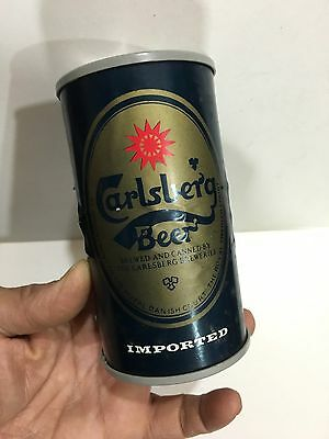 VINTAGE NOVELTY CARLSBERG BEER RADIO IN SHAPE OF CAN AM(MW)- BAND FROM THE 1970s