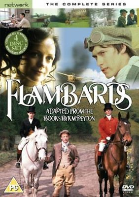 FLAMBARDS the complete series box set. 4 discs. Brand new sealed DVD.