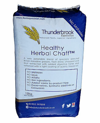 Thunderbrook Healthy Herbal Chaff 15kg - Great for Horses