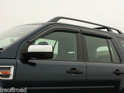 Land Rover Freelander 2 - Wind Deflector Set - Front and Rear - DA6074