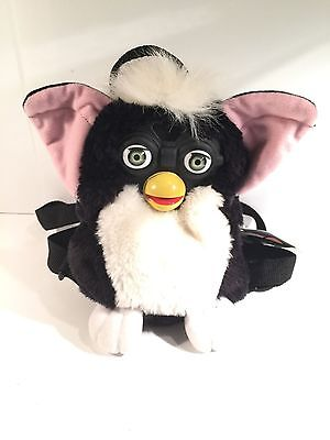 Furby Plush Backpack Vintage Authentic Tiger Electronics Rare To Find NEW