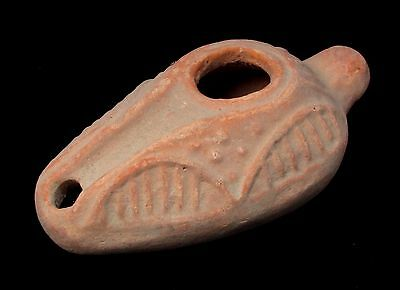 Biblical Replica Samaritan OIL LAMP from Israel