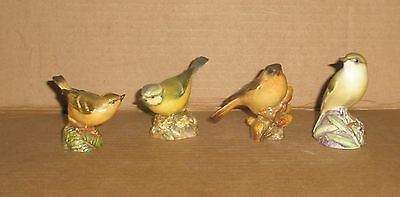 Royal Worcester Bird Figurines