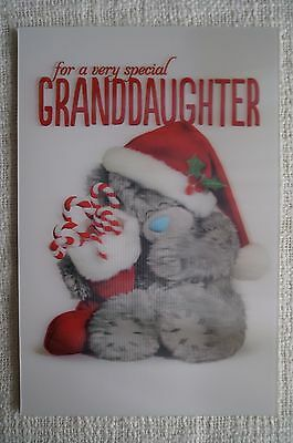"""3D Christmas cards from Me to You """"for a very special Granddaughter"""""""