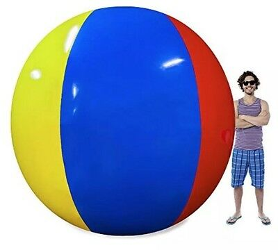 Massively Giant 12 Ft Huge Inflatable Beach Ball Behemoth Pool Theme Party Decor