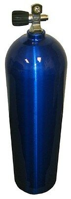 New Blue Sherwood Aluminum 80 CF Scuba Diving Tank Aluminum Cylinder