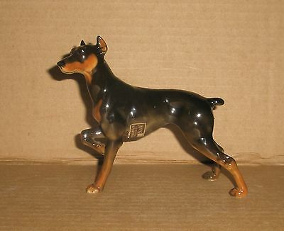 Hutschenreuther Dog Figurine Doberman Female
