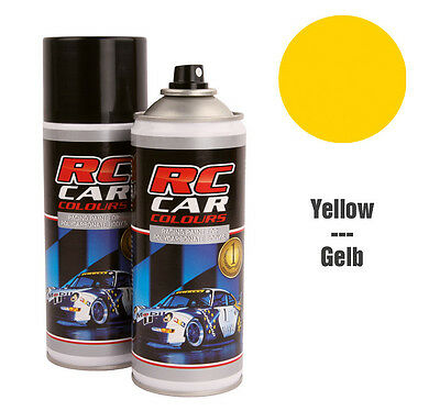 RC Car Colours #RCC019 Lexan Spray Gelb 150ml GNP: 3,93€/100ml