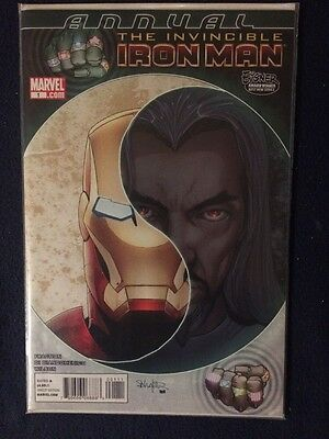 The Invincible Iron Man Annual # 1 Marvel Comics NM 2010