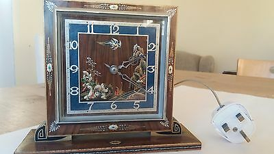 Smiths Electric Mantle Clock - Working