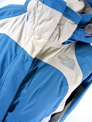 Girls THE NORTH FACE 'HYVENT' WATERPROOF Blue JACKET Size XL 14/16years (991)