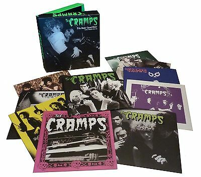 CRAMPS File Under Sacred Music : Early Singles 78-81-Box Set: 10 x 7 Single-NEW.