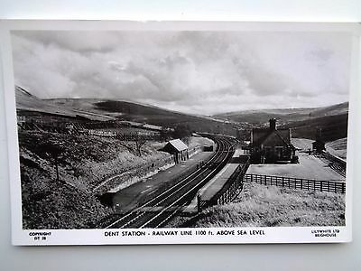 Dent Railway Station   Old Real Photo  Postcard