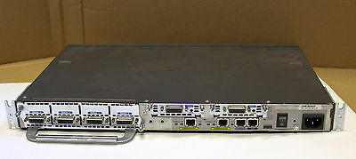 Cisco 2651XM Router. 6x serial ports. 2x WIC1T, 4A/S. advsecurityk9-mz.124-25b
