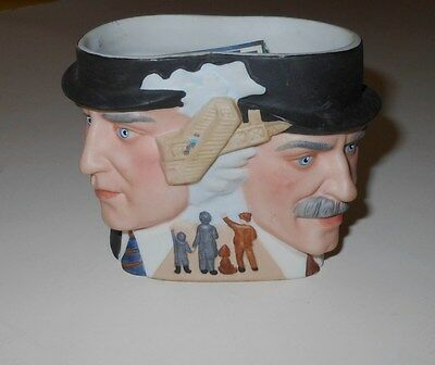 Avon The Wright Brothers vintage 1985 collector character toby mug porcelain