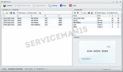 CIM Maxima Card Software - 861 841 621 AND OTHER CIM EMBOSSERS