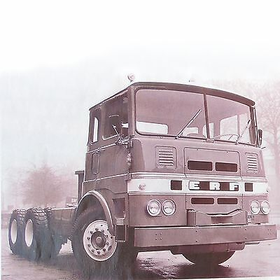 ERF - SEDDON ATKINSON / Spanish Clippings Reportaje Coverage Truck Lorry Camion