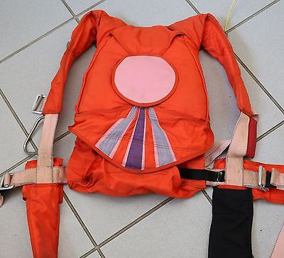 Racer skydiving parachute container for small people and up to 150/150 canopies