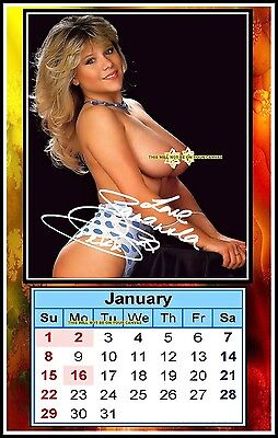 The 2017 Samantha Fox Signed, MINI MAGNETIC CALENDAR, Limited Edition (SF-1-MAG)