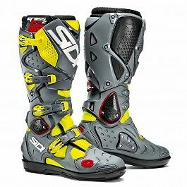 Sidi Crossfire 2 Srs Black/grey/fluo Motocross Enduro Boots (Rrp £389.99)