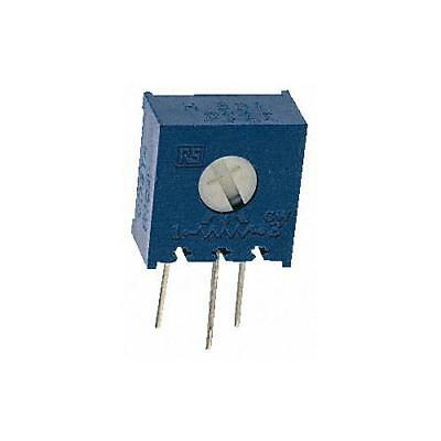 2 x Bourns 3386H-1-105LF, Trimmer Resistor with Pin Terminations, 1MΩ ±10% 1/2W