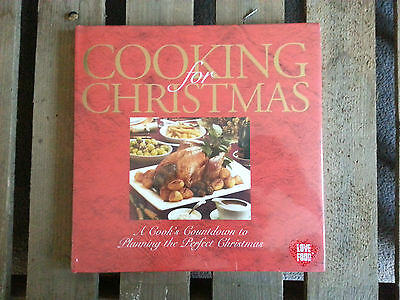 NEW Cooking for Christmas Recipe Book inc Countdown & Leftovers Cookery Hardback