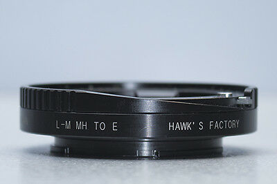 Hawks Leica M Lens to Sony E-Mount Camera Macro Helicoid Adapter