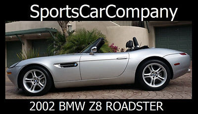 2002 BMW Z8 Roadster 2002 BMW Z8 ROADSTER MODERN CLASSIC RARE & COVETED WORLDWIDE BUY NOW $149,998