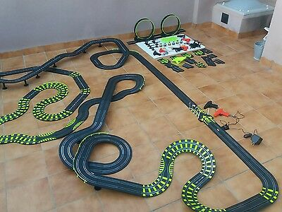 Enorme lote pista coches de carrera slot racing car Artin 1:43 (no scalextric)