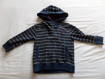 Junior J Debenhams Boys Girls Unisex Stripe Hooded Jumpers Size 3-4 Years