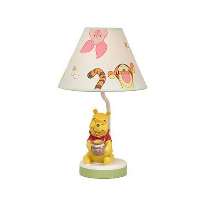 Disney Baby - Peeking Pooh Lamp & Shade - Winnie The pooh and Friends