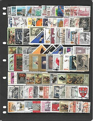 Poland Great Collection Of Used Stamps Bb086