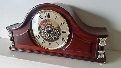 Stunnig Hermle 'acton' Westmnister- Top Of The Range Clock -See Video
