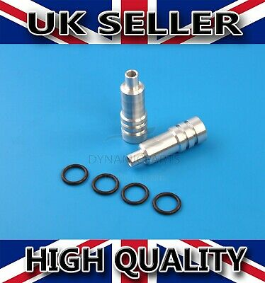 (2X) Vauxhall Astra Corsa Combo 1.7 DTi Y17DT Fuel Injector Sleeves + Seals