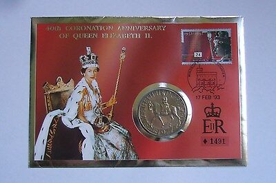 Great Britain 25 New Pence 1977, Stamp-Cover, Silver Jubilee of Reign