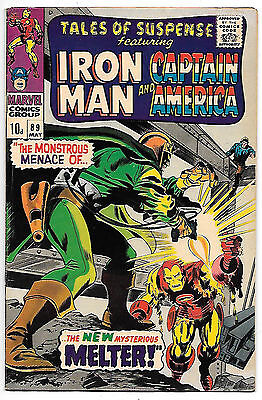 Tales of Suspense #89 (Marvel 1967, vf+ 8.5) Colan & Kane art - 40% off guide