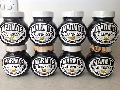 Limited Edition Guinness Marmite Jars (Eight)