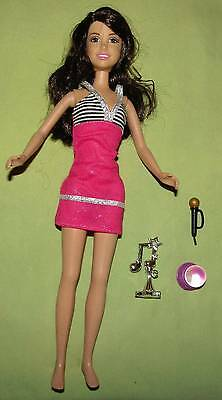 Selena Gomes Alex Russo Doll w/ Accessories Dress Microphone Crystal Ball