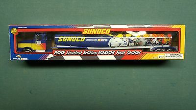 Sunoco 2005 Limited Edition Nascar Fuel Tanker Toy Truck