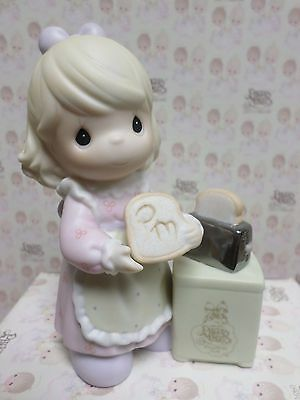 A SPECIAL TOAST TO PRECIOUS MOMENTS -Precious Moments Figurine By ENESCO C-0017