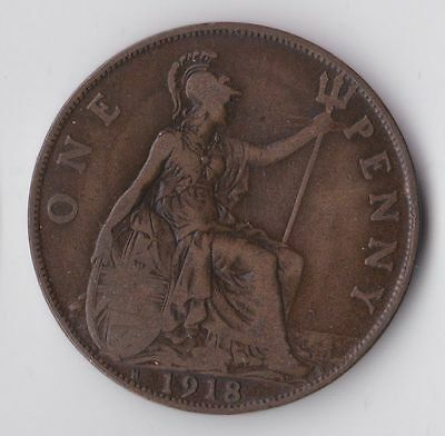 one penny 1918