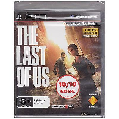 Playstation 3 Last Of Us, The Ps3 Rare Original Australian 18  New Sealed [Bs]