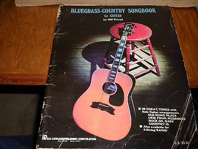 1982-Bluegrass-Country Songbook For Guitar By Bill Knopf