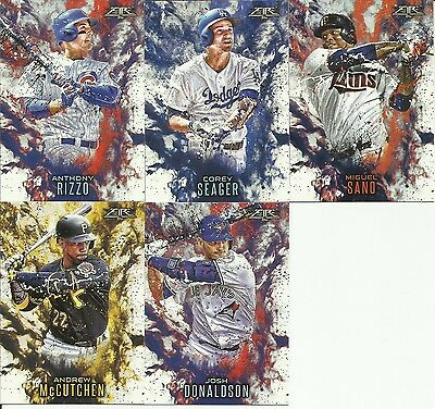2016 Topps Update Corey Seager Topps Fire Insert Card