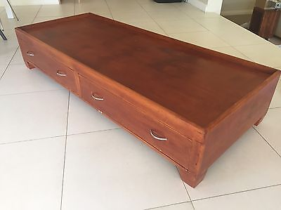 Timber Bed Frame / Kids Toy Chest & Play Table